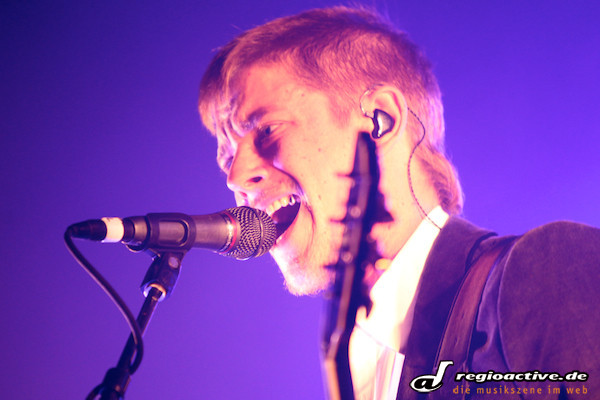 im nebel versunken - Fotos: Interpol live im Docks Hamburg